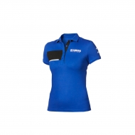 Paddock Blue Pique-Polo-Shirt für Damen