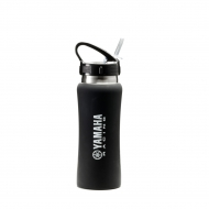 Wasserflasche in Racing Black